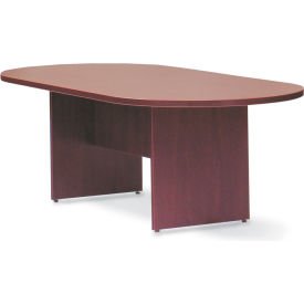 "Offices To Go™ Conference Table - Racetrack - 120"" - Mahogany"