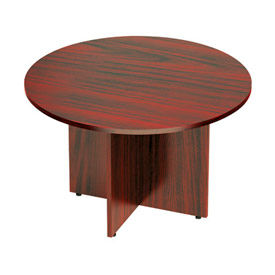 """Offices To Go™ Conference Table - Round - 48"""" - Mahogany"""