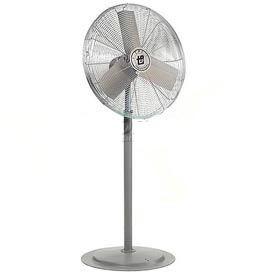 TPI AC24-TE3-P, 24 Inch Pedestal Fan 1/4 HP 4300 CFM 3 PH, 240/480V, Totally Enclosed Motor
