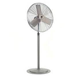 """TPI 24"""" Washdown Rated Pedestal Fan 1/3 HP 8200 CFM"""