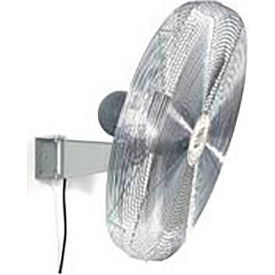 TPI IHP30-H-277-W, 30 Inch Wall Mount Fan 1/3 HP 5400 CFM 1 PH 277V Totally Enclosed Motor