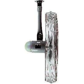 TPI AC24-TE3-C, 24 Inch Ceiling Mount Fan 1/4 HP 4300 CFM 3 PH Totally Enclosed Motor