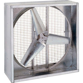 "48"" Direct Drive Agricultural Box Fan 230V 1 HP Motor - 3 Phase"
