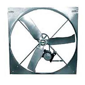 "50"" Belt Drive Panel Fan Cast Aluminum Blade 3 Phase"