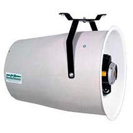 """J&D 16"""" Fiberglass Funnel Fan Variable Speed VU16F 1/3 HP 1680 CFM"""