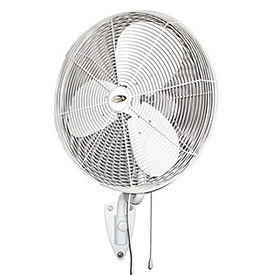 "J&D 24"" Oscillating Fan With Wall Bracket POW24OSC 1/4 HP 3950 CFM"