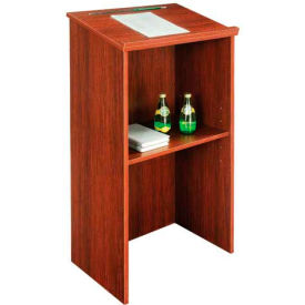 "Stand-Up Lectern, 23""W X 15-3/4""D X 45-7/8""H, Mahogany"