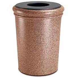 Concrete Waste Container 50 Gallon, Sedona - 720921