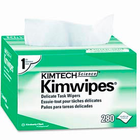 "KIMTECH Science® Kimwipes® Delicate Task Wipers - 4-2/5"" x 8-2/5"" - KCC34155"