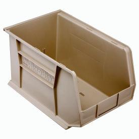 "Akro-Mils AkroBin® Plastic Stacking Bin 30260 - 11""W x 18""D x 10""H, Stone - Pkg Qty 6"