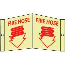 Fire Hose Sign - Glow Acrylic 5-3/4 x 8-3/4