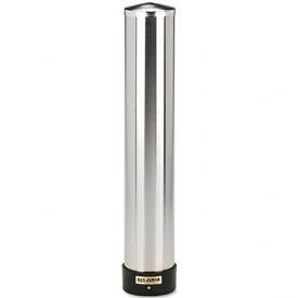 Pull-Type Wall Mounted Large Water Cup Dispenser, Stainless Steel