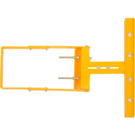 """Spring-Loaded Safety Gate 16""""-26""""W Opening Yellow"""