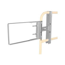 """Spring-Loaded Safety Gate 16""""- 26""""W Opening Galvanized"""