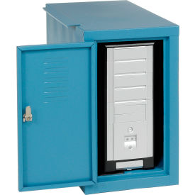 Computer Cabinet Side Car-Blue