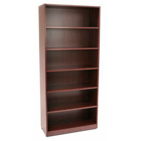 Regency 72 Inch Bookcase in Mahogany - Manager Series