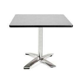 "OFM 36"" Square Flip-Top Multi-Purpose Table, Gray Nebula"
