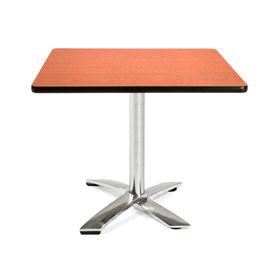 "OFM 36"" Square Flip-Top Multi-Purpose Table, Cherry"