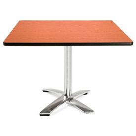 "OFM 42"" Square Flip-Top Multi-Purpose Table, Cherry"
