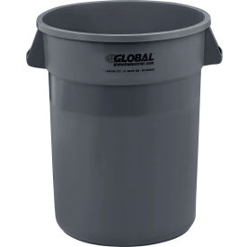 Trash Container, Garbage Can - 32 Gallon