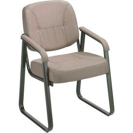 Fabric  Reception Chair Gray