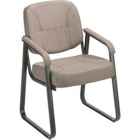 Fabric  Reception Chair Gray