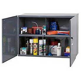 "Durham Utility Wall Mount Cabinet 338-95 Dark Gray - 33-3/4""W x 12""D x 23-7/8""H"
