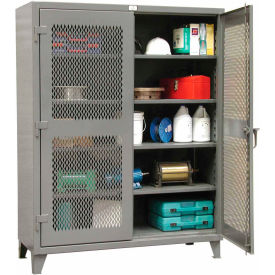 Strong Hold® Heavy Duty Ventilated Storage Cabinet 56-V-244 - 60x24x78