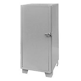 "Jamco Heavy Duty Narrow Storage Cabinet MG224-SF - Solid Door 24""W x 24""D x 66""H"