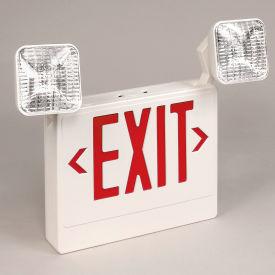 TCPI 20784 LED Emergency Exit Sign - Red