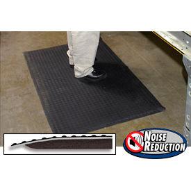"""Noise  Reduction Antifatigue Mat 9/16"""" Thick 36"""" X 120"""" Black"""