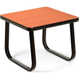 "OFM 20"" End Table with Sled Base, Cherry"
