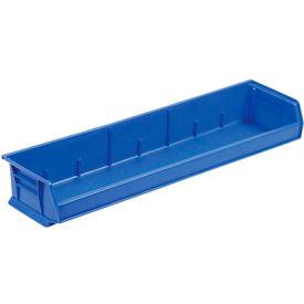 """Akro-Mils 33"""" Wide AkroBin® 30320 - 33 x 8-5/8 x 5 Blue - Pkg Qty 4"""