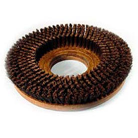 """Powr-Flite® 18"""" Poly Shower Feed Brush With Clutch Plate For Carpet - SF218"""