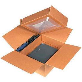"Laptop Shipping System 17"" x 17"" x 8"" 200#/ECT-32 - Pkg Qty 5"