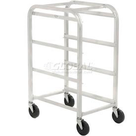 "All Welded Aluminum 3 Lug Cart, 26""L x 18-3/4""W x 41""H, No Lugs"