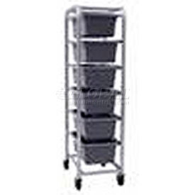 "All Welded Aluminum 6 Lug Cart, 26""L x 18-3/4""W x 71""H"
