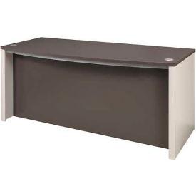 "Bestar® Executive Desk - 71"" - Slate & Sandstone - Connexion Series"