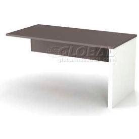 Bestar® Return Table - Slate & Sandstone - Connexion Series