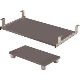 Connexion Keyboard Shelf & CPU Platform - Sandstone Modular Furniture
