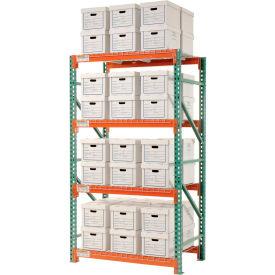 "Record Storage Rack Starter Letter Legal 48""W x 36""D x 96""H"