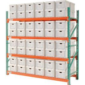 "Record Storage Rack Starter Letter Legal 96""W x 36""D x 96""H"