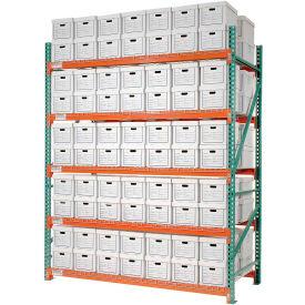 "Record Storage Rack Starter Letter Legal 120""W x 42""D x 120""H"