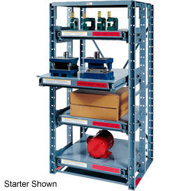 Roll Out Extra Heavy Duty Shelving Add-On 4 Shelf 36x36x85