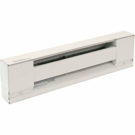TPI Electric Baseboard Convection Heater H2920-096SW - 1500/2000W 208/240V White