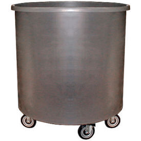 Bayhead RT-20LP Round Container Truck 30 Gallon, Gray