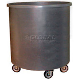 Bayhead RT-25LP Round Container Truck 49 Gallon, Gray