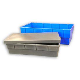 Bayhead Storage Container BC-4721 - 48-1/2 x 23 x 13-1/2 Gray