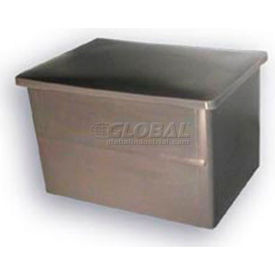 Bayhead Storage Container with Lid VT-20 - 32-1/2 x 23-1/2 x 20 Yellow
