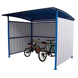 "Bike Storage Shelter 120""L x 95-1/2""W x 90-1/16""H"